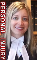 Charlotte Salomon, personal injury lawyer, experienced in ICBC claims disuptes e.g. catastrophic brain injury cases , plus , wills, residential real estate conveyancing, and  general civil litigation cases in Victoria