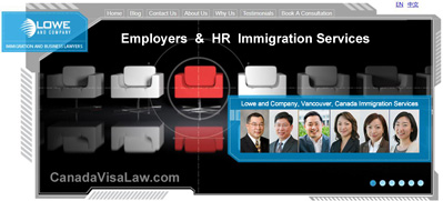 Vancouver BC Canada Immigration Lawyers and selected
