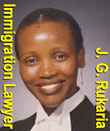 Jane Rukaria,  immigration & refugee lawyer fluent in Swahili and called to bar in BC and Kenya