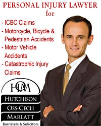 Lorenzo Oss-Cech, experienced brain injury and spinal injuries,  personal injury ICBC disputes as well as , professional negligence, medical malpractice lawyer