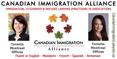 Nancy Elliot, Toronto & Mary Keyork Montreal  practice in association as Canada Immigration Lawyers  with offices in Toronto and Montreal, HQ 5000 Yonge St. Toronto